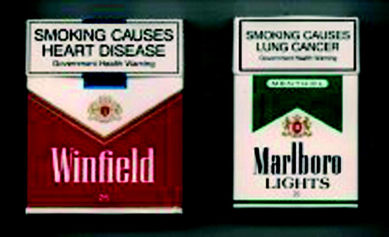 product labels smoking kills marlboro
