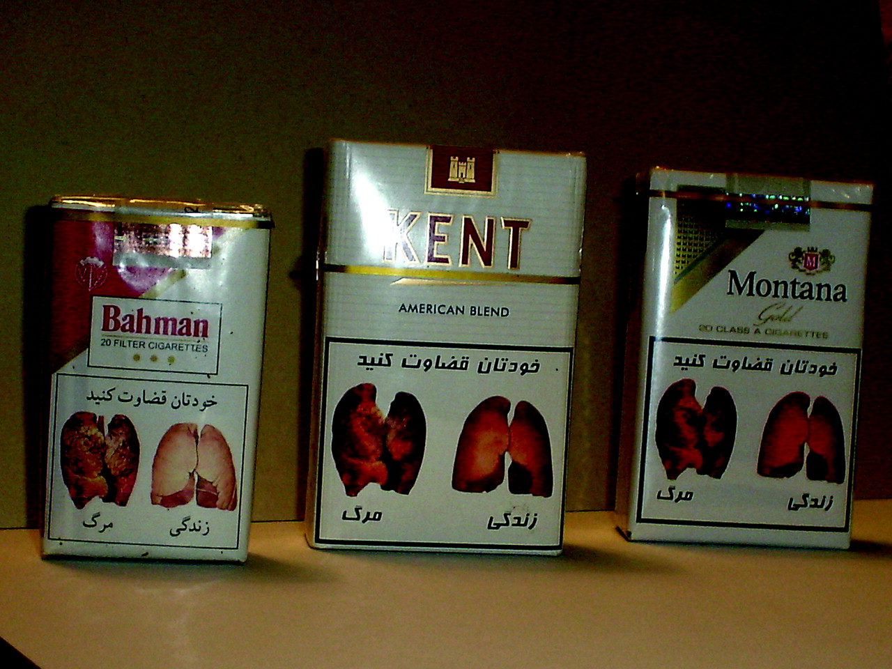 Foreign literature about cigarette smoking