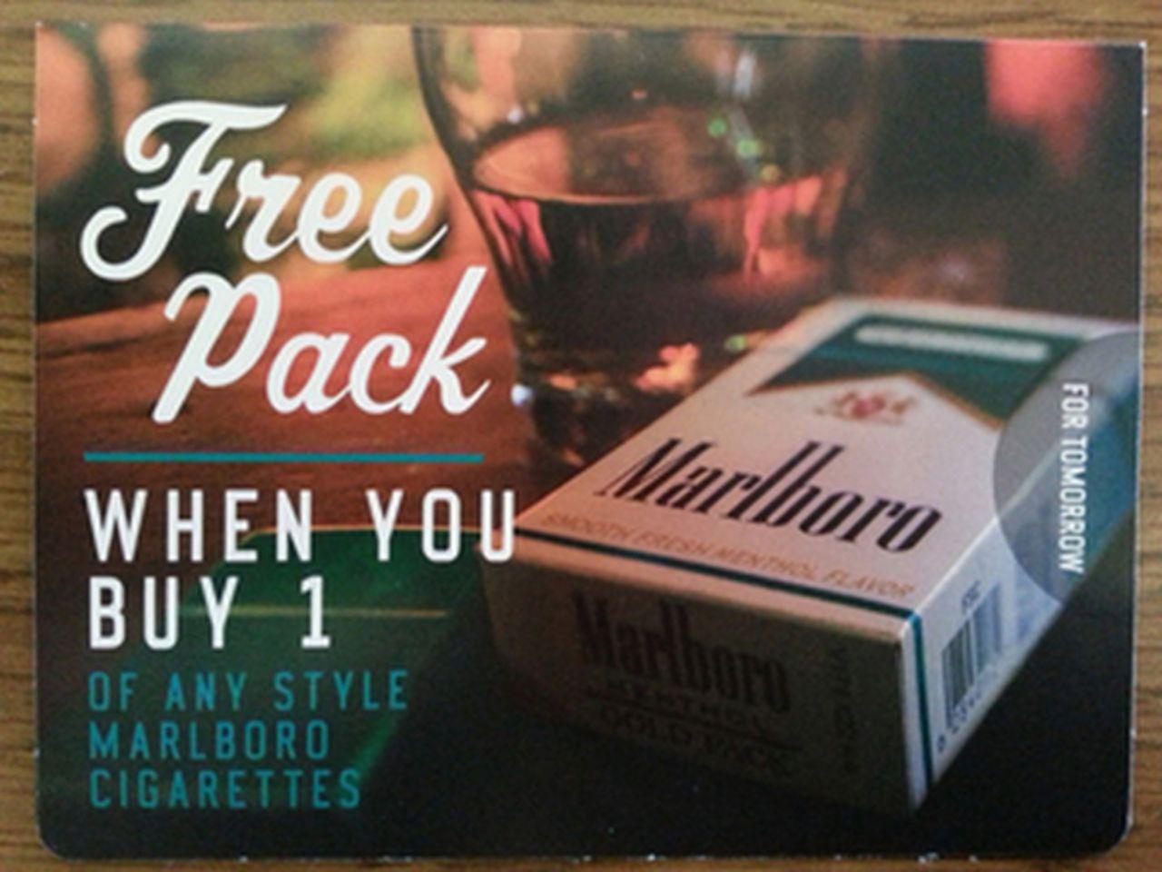 Cost of pack of cigarettes Marlboro in Louisiana 2018