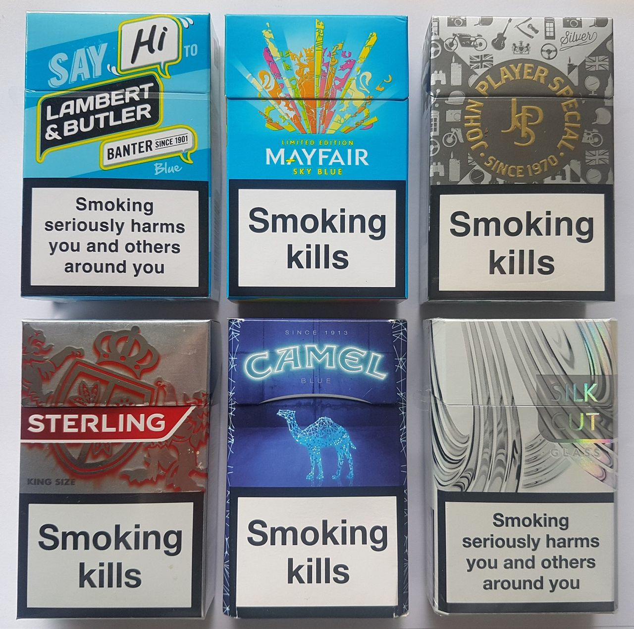 How tobacco companies in the United Kingdom prepared for, and