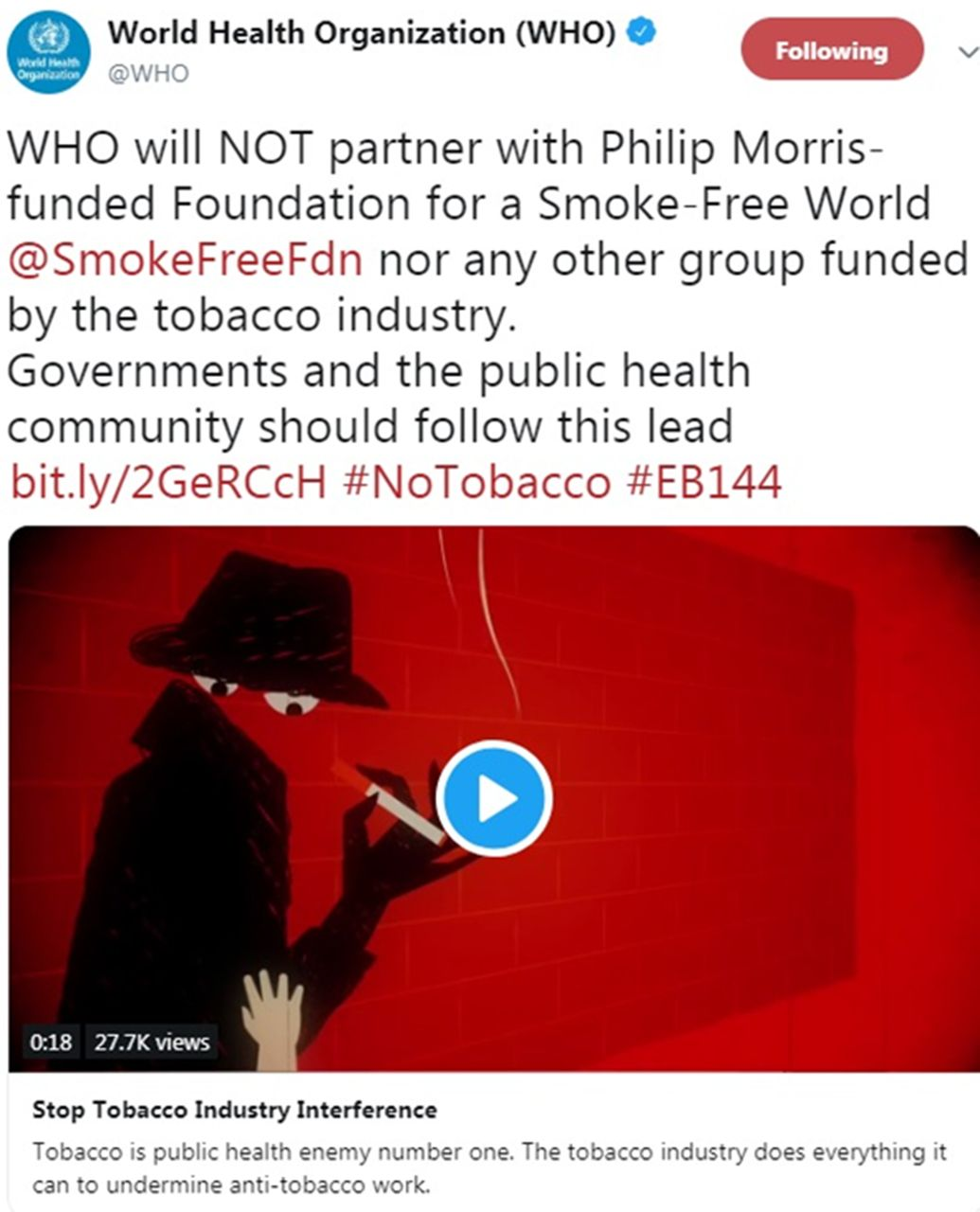 Worldwide news and comment   Tobacco Control
