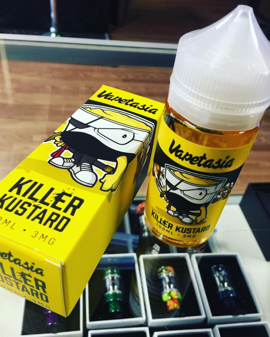 Return of cartoon to market e-cigarette-related products
