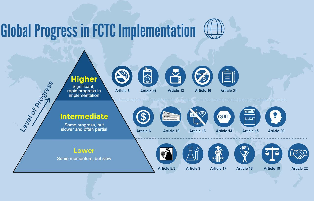 Impact of the WHO FCTC over the first decade: a global evidence