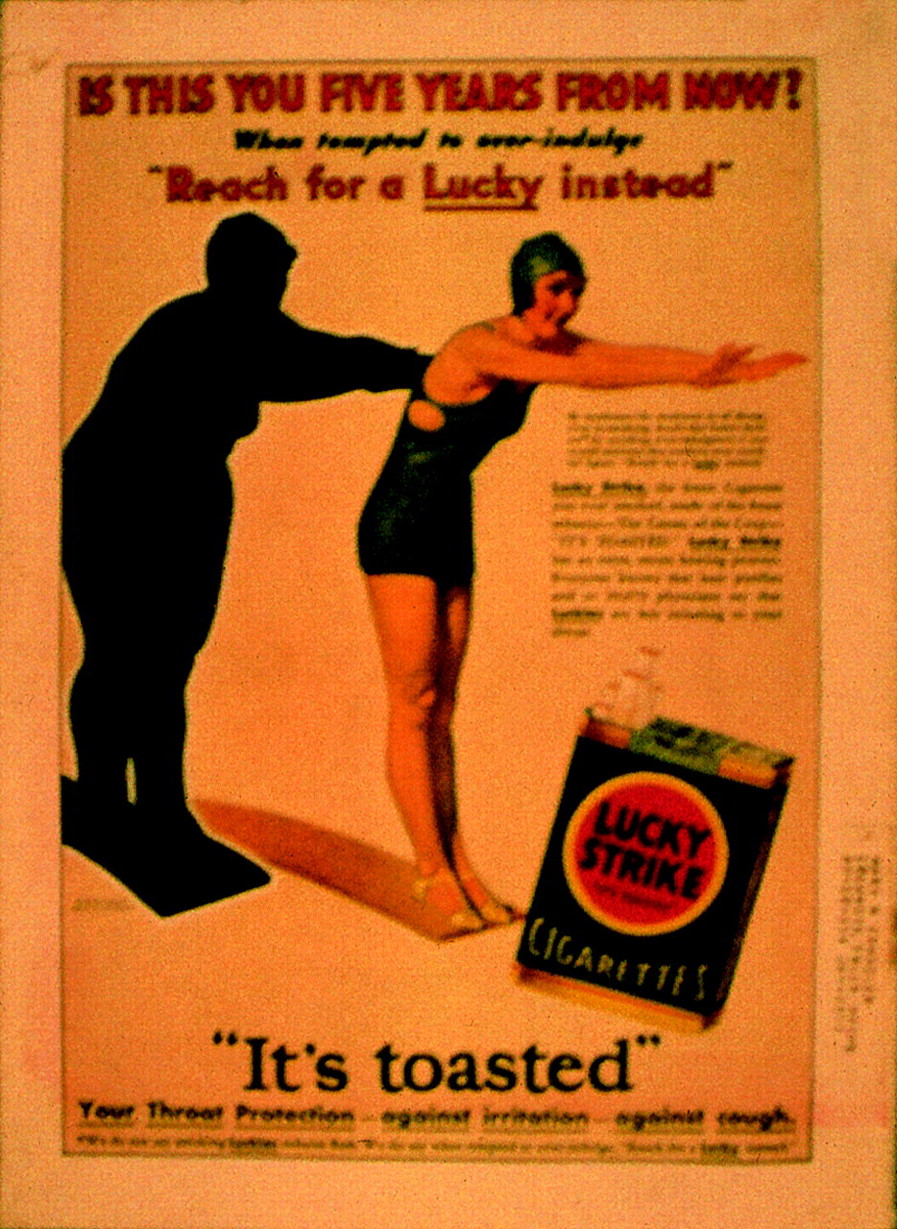 """From social taboo to """"torch of freedom"""": the marketing of"""