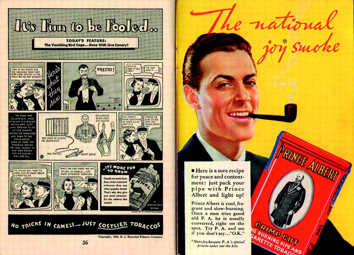 negative effects of tobacco advertising