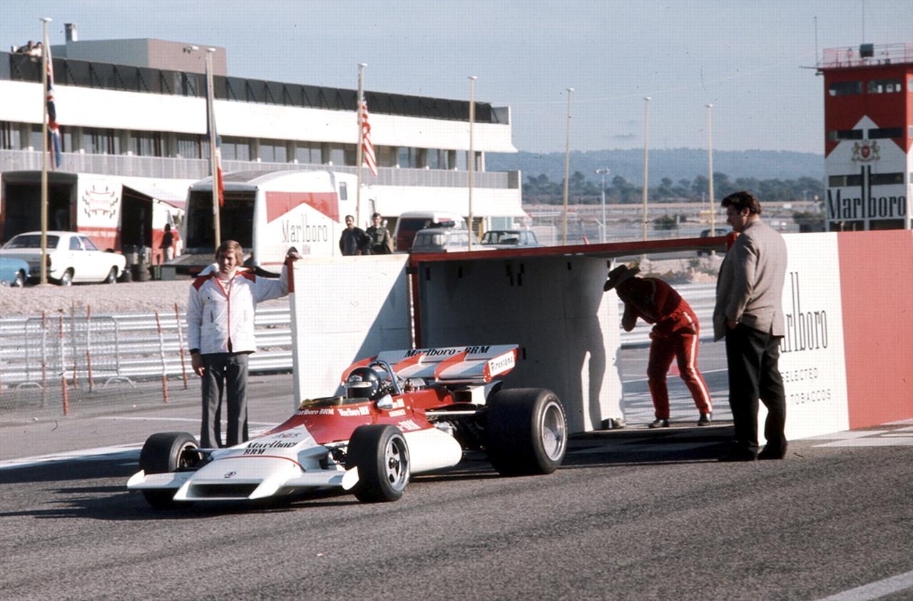 Marlboro branded BRM F1 car