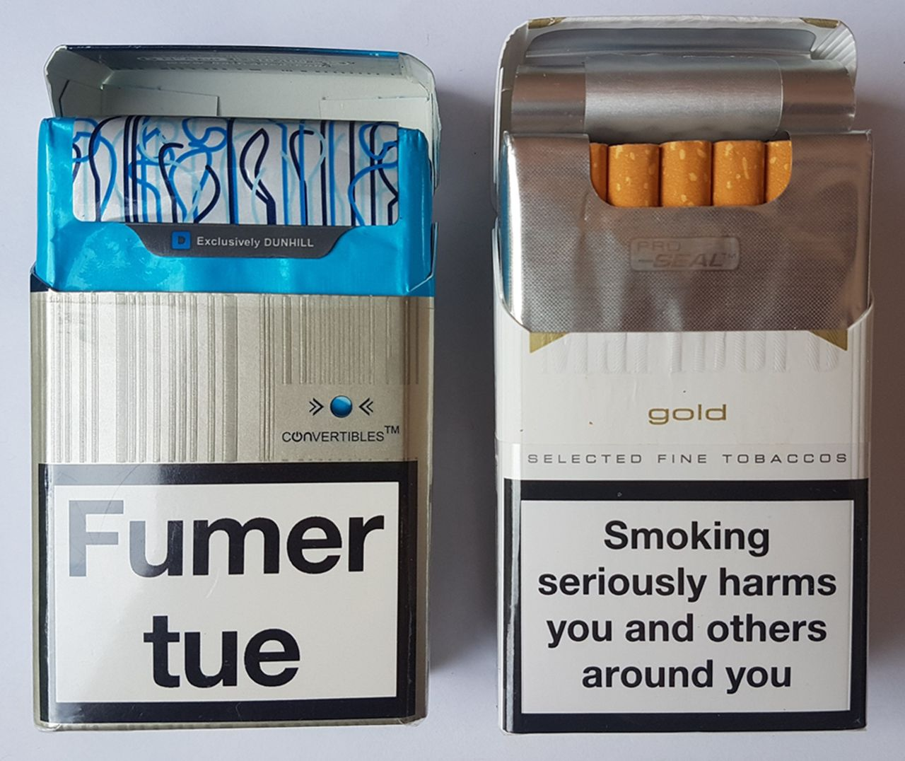 How tobacco companies in the UK prepared for and responded to