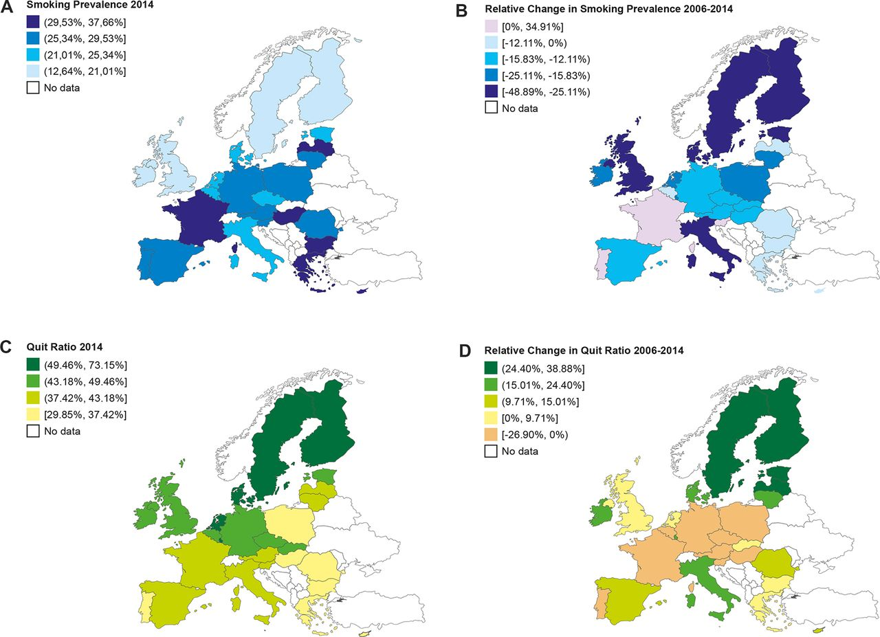 Smoker countries
