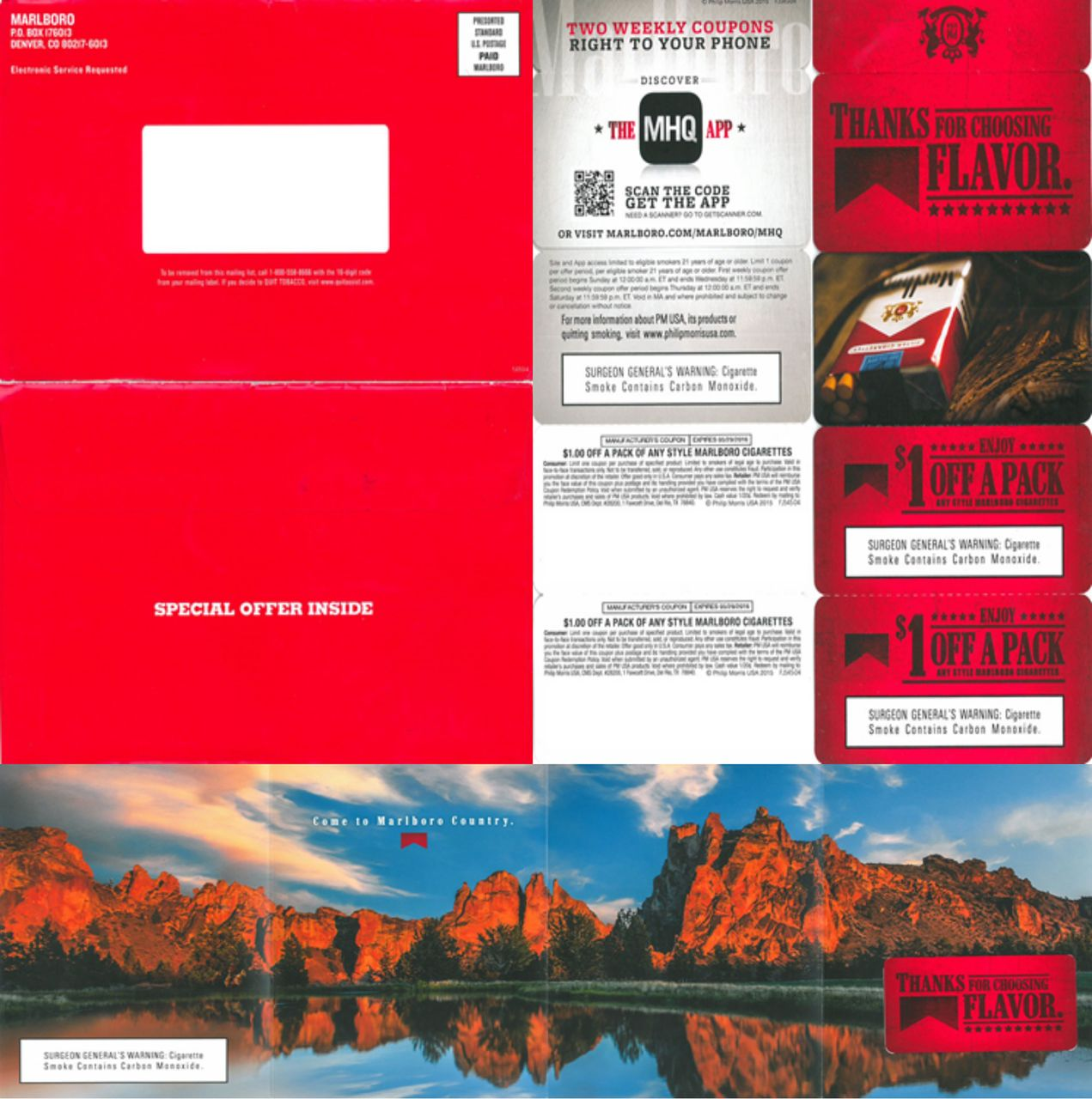 Cigarette coupons by mail 2018