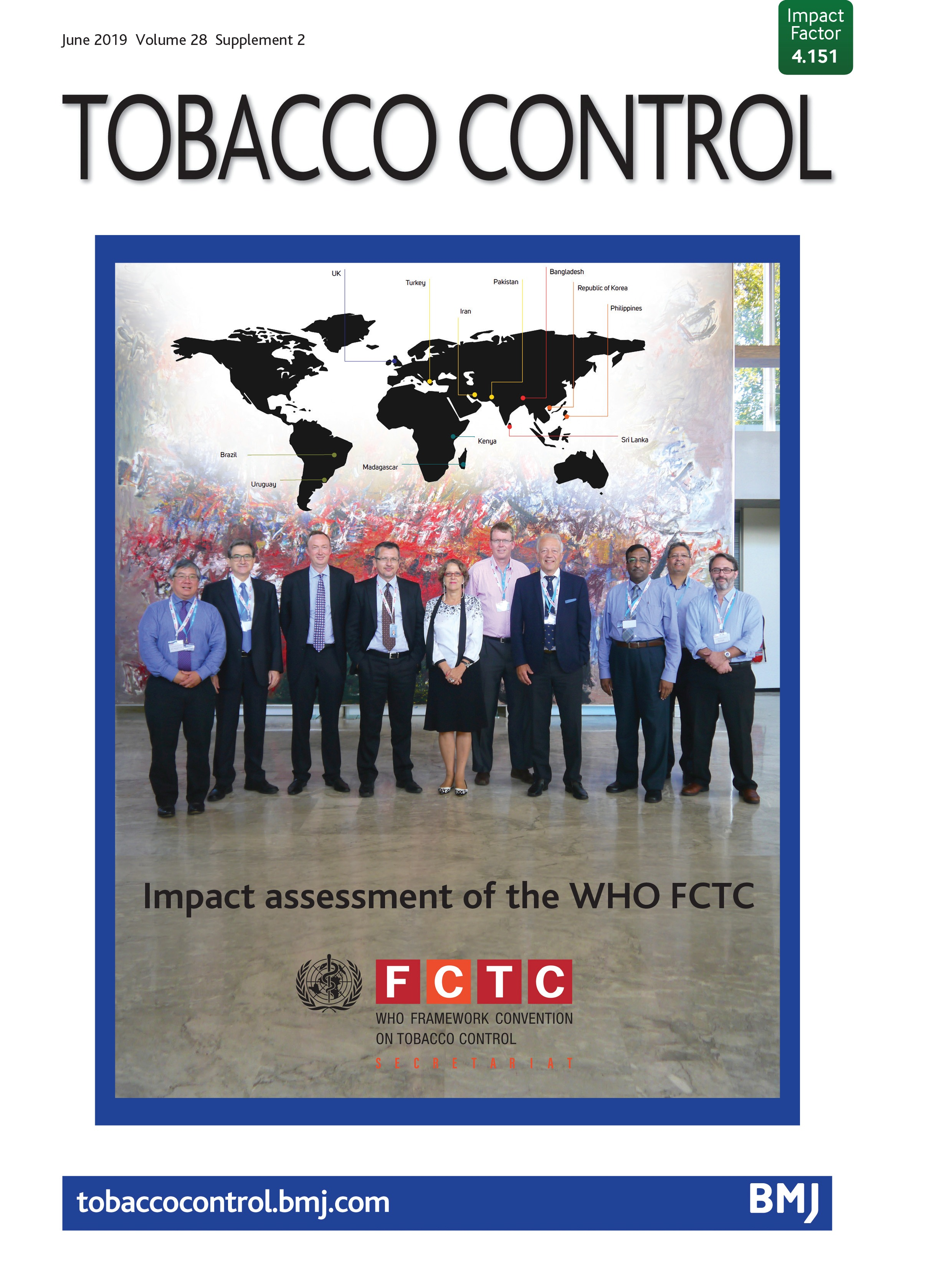 Impact of the WHO FCTC on non-cigarette tobacco products | Tobacco
