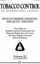 Tobacco Control: 2 (Suppl 1)
