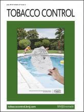 Tobacco Control: 21 (4)