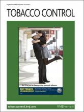 Tobacco Control: 21 (5)