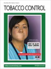 Tobacco Control: 21 (6)