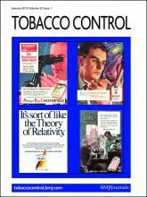 Tobacco Control: 22 (1)