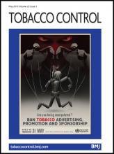 Tobacco Control: 22 (3)