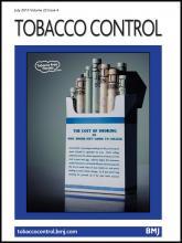 Tobacco Control: 22 (4)