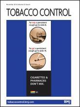 Tobacco Control: 22 (6)