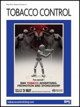 Tobacco Control: 22 (e1)
