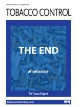 Tobacco Control: 22 (suppl 1)