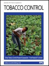 Tobacco Control: 22 (suppl 2)