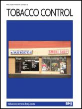 Tobacco Control: 23 (2)