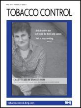 Tobacco Control: 23 (3)