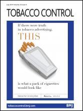 Tobacco Control: 23 (4)
