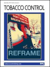 Tobacco Control: 23 (5)