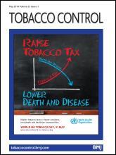 Tobacco Control: 23 (e1)
