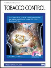 Tobacco Control: 23 (suppl 1)