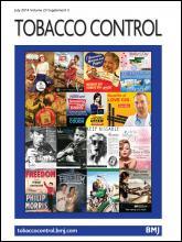 Tobacco Control: 23 (suppl 3)