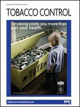 Tobacco Control: 24 (1)