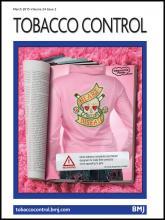 Tobacco Control: 24 (2)