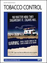 Tobacco Control: 24 (4)
