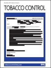Tobacco Control: 24 (6)