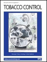Tobacco Control: 24 (Suppl 1)