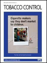 Tobacco Control: 24 (e1)