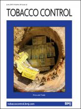 Tobacco Control: 24 (e2)