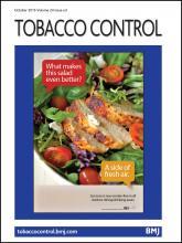 Tobacco Control: 24 (e3)