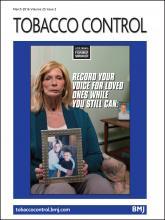 Tobacco Control: 25 (2)
