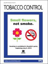 Tobacco Control: 25 (4)