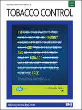 Tobacco Control: 25 (5)