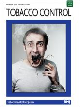 Tobacco Control: 25 (6)