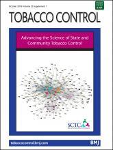Tobacco Control: 25 (Suppl 1)
