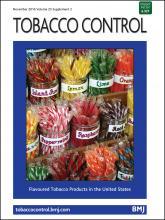Tobacco Control: 25 (Suppl 2)
