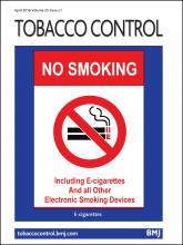 Tobacco Control: 25 (e1)