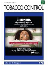 Tobacco Control: 26 (1)