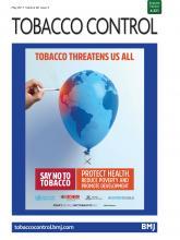 Tobacco Control: 26 (3)