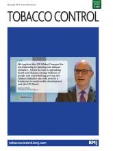 Tobacco Control: 26 (6)